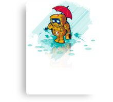 TINY ROBOT Canvas Print