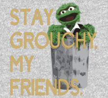 Stay Grouchy Baby Tee