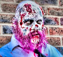 Purple Bearded Zombie by Noam  Kostucki