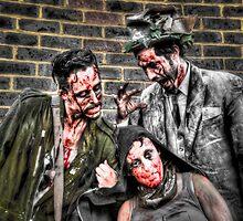 Three Zombies by Noam  Kostucki