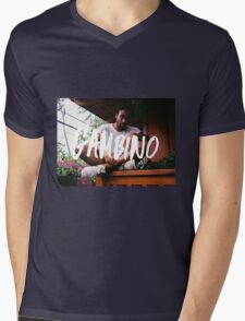 Childish Gambino Type Mens V-Neck T-Shirt