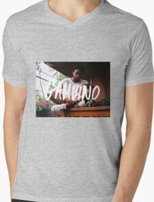 Childish Gambino Type Mens V-Neck T-Shirt