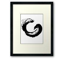 Enso 3 Framed Print