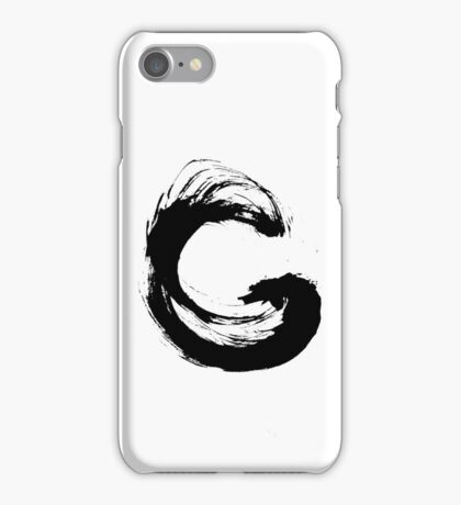 Enso 3 iPhone Case/Skin