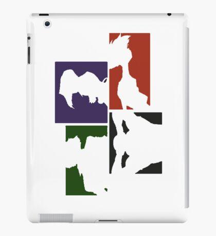 Cowboy Bebop Colored Panels iPad Case/Skin