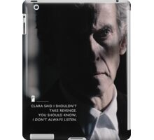 Twelve Doctor Who (3) {CASES, PILLOWS,ETC} iPad Case/Skin