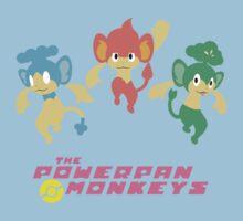The Powerpan Monkeys Kids Clothes