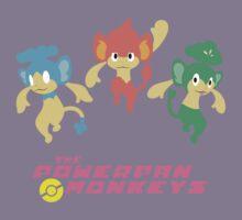 The Powerpan Monkeys Kids Tee