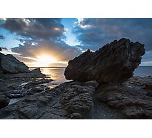 King Fisher's Rock Photographic Print