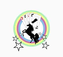 Unicorn Plastering Cards Unisex T-Shirt