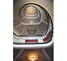 Art Nouveau staircase in Riga, Latvia Photographic Print