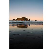 Hahei Beach - Sunset Photographic Print