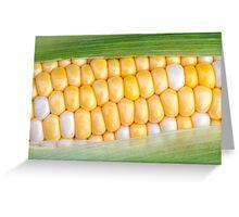 Sweet Corn on the Cob Greeting Card