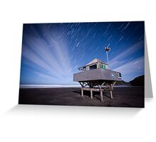 Bethells Startrails  Greeting Card