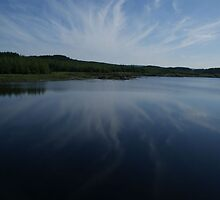 Connemara Ireland Lake by Allen Lucas