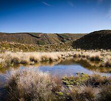Tongariro Crossing - Lake by Brian Lai