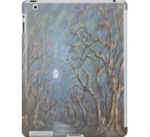 Hallway of Trees to the Moon iPad Case/Skin