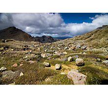Tongariro Crossing Photographic Print