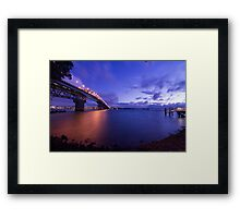 Auckland Harbour Bridge Framed Print