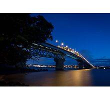 Auckland Harbour Bridge Photographic Print