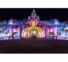 Fantasea Elephant Show Photographic Print