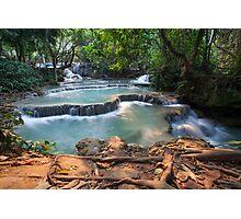 Kuang Si Falls - Laos Photographic Print