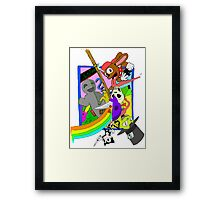 Sweet 600% Framed Print