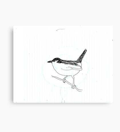 California Bird study 3 Canvas Print