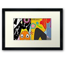 resizing the downsize or jimmy jimjim comin home for some downtime Framed Print