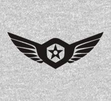 Gipsy Danger Logo Pacific Rim - Black One Piece - Long Sleeve