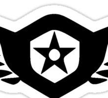 Gipsy Danger Logo Pacific Rim - Black Sticker
