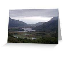 Ireland, Storm brews in mountains Greeting Card