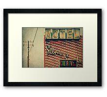 Silver Sands Motel Framed Print