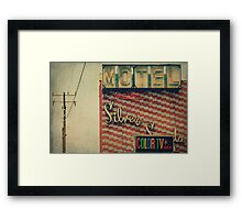 Silver Sands Motel Framed Print