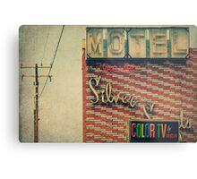 Silver Sands Motel Metal Print
