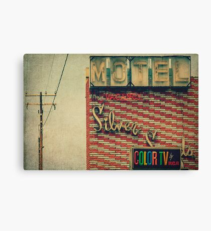 Silver Sands Motel Canvas Print