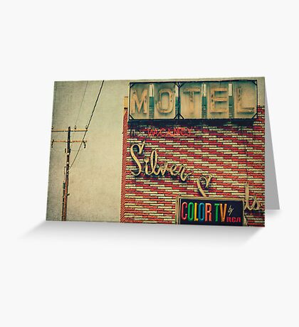 Silver Sands Motel Greeting Card