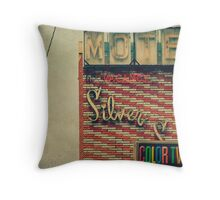 Silver Sands Motel Throw Pillow