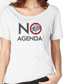 No Agenda Logo T - Women's Relaxed Fit - The No Agenda Show Women's Relaxed Fit T-Shirt