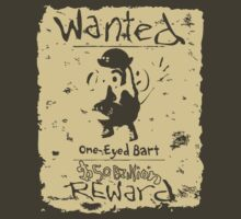 Wanted - One-Eyed Bart by LittleKenny