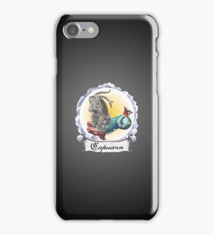 Capricorn Zodiac Astrology iPhone, iPod Case Fade to Black, Super Lush iPhone Case/Skin