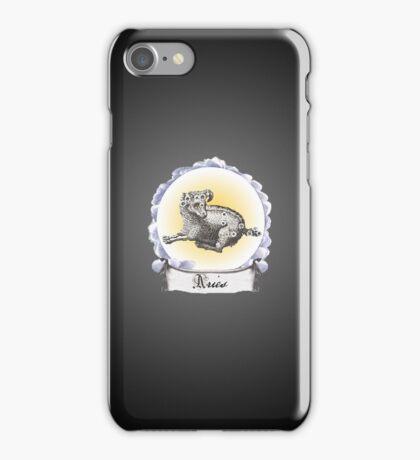 Aries Zodiac Astrology iPhone, iPod Case Fade to Black, Super Lush iPhone Case/Skin