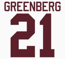 Greenberg Jersey - maroon/red text by sstilinski
