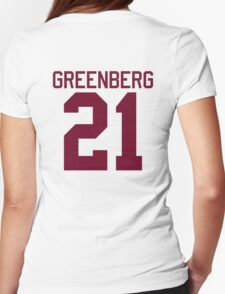 Greenberg Jersey - maroon/red text T-Shirt