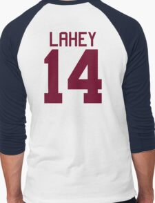 Isaac Lahey Jersey - maroon/red text T-Shirt
