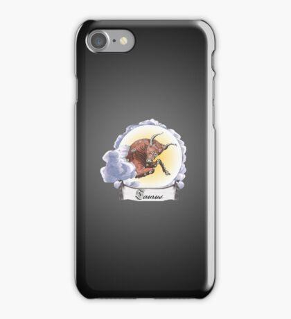 Taurus Zodiac Astrology iPhone, iPod Case Fade to Black, Super Lush iPhone Case/Skin
