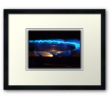 ©HS The Blue Transport Framed Print