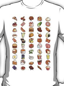Food Pixels T-Shirt