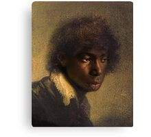 young man Canvas Print