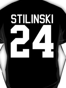 Stiles Stilinski's Jersey - white text T-Shirt